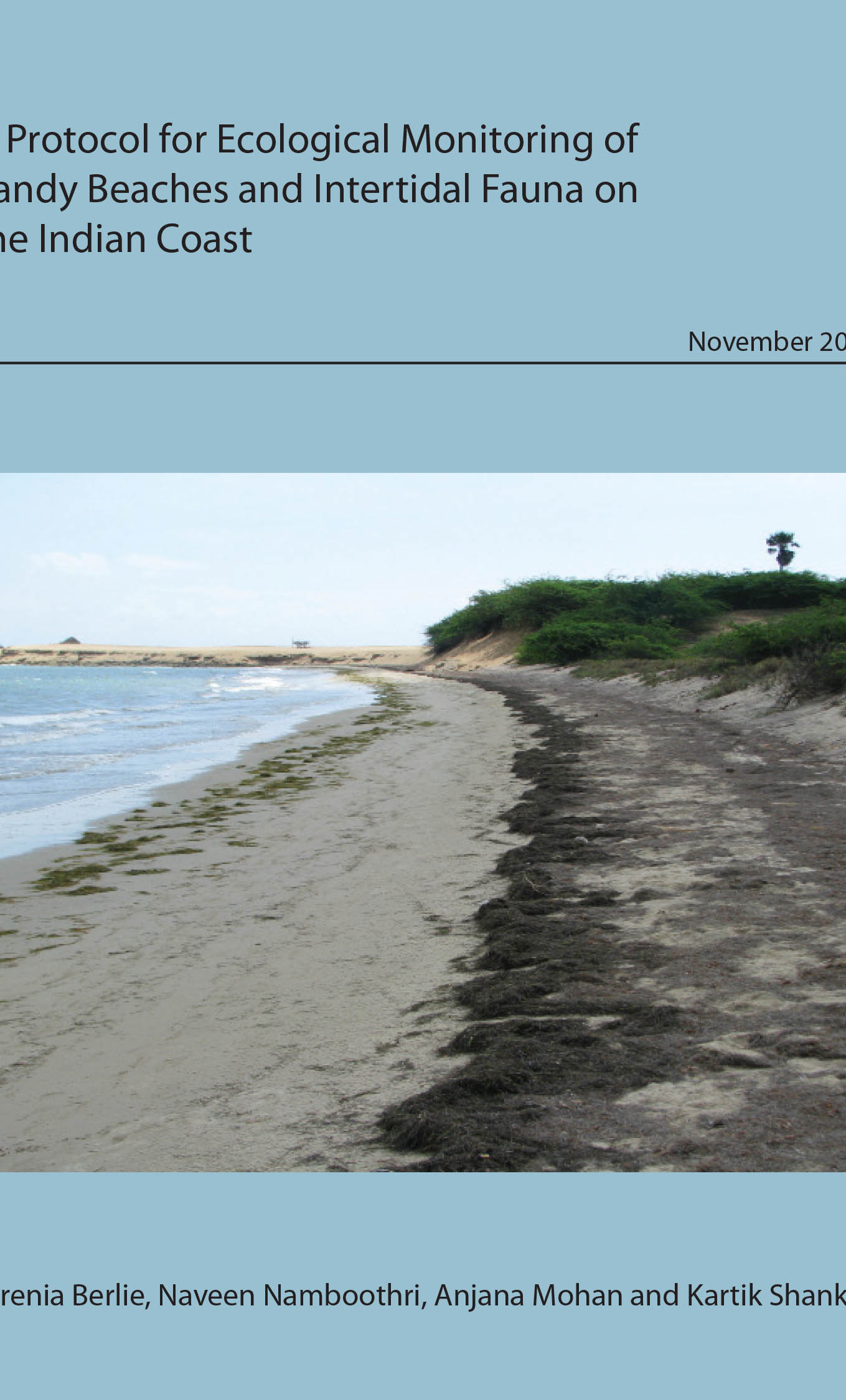 Monitoring of sandy beaches and intertidal fauna