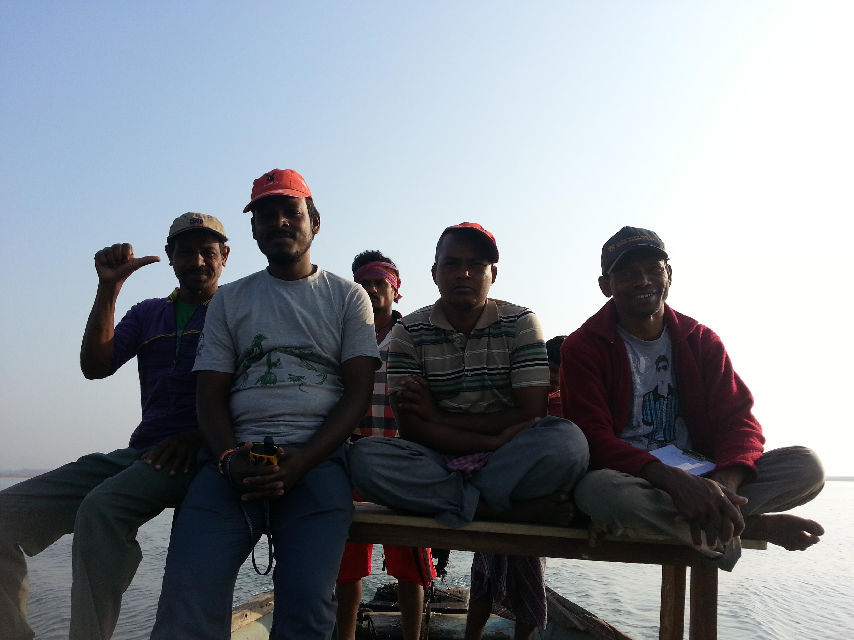 Out at Sea! Photo Credit: Nupur Kale